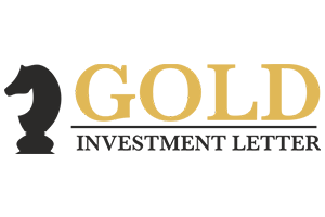 gold investment letter logo